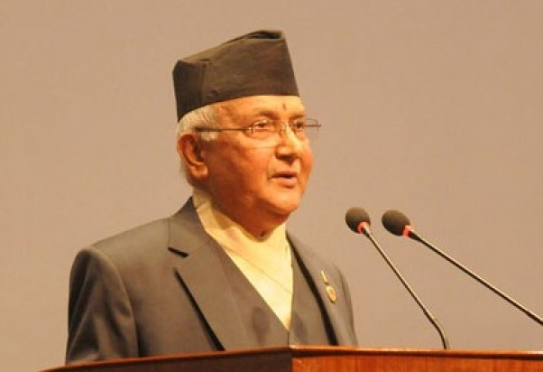 Environment for all Nepalis to invest in hydro projects enabled, assures PM Oli