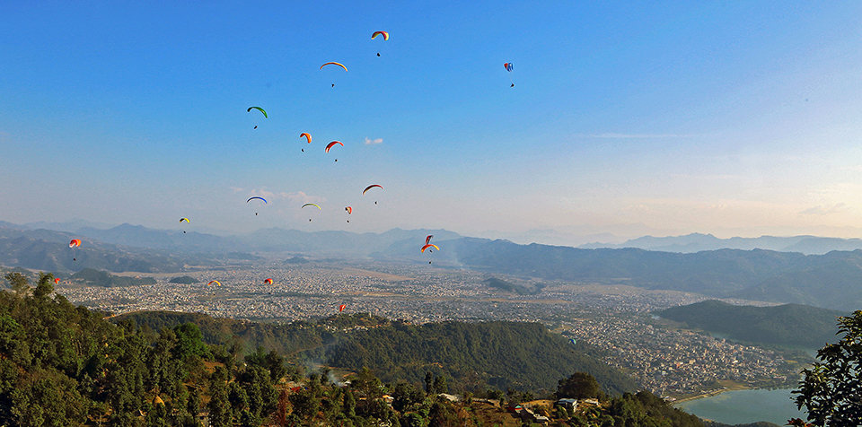 Call for regulating paragliding industry in Pokhara