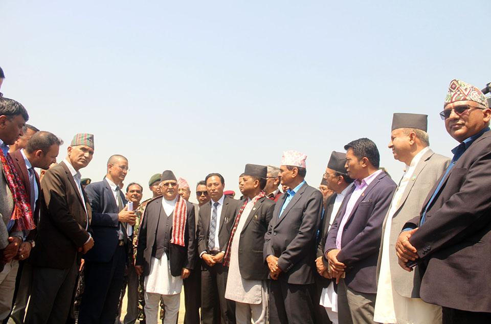 PM observes under-construction international airport