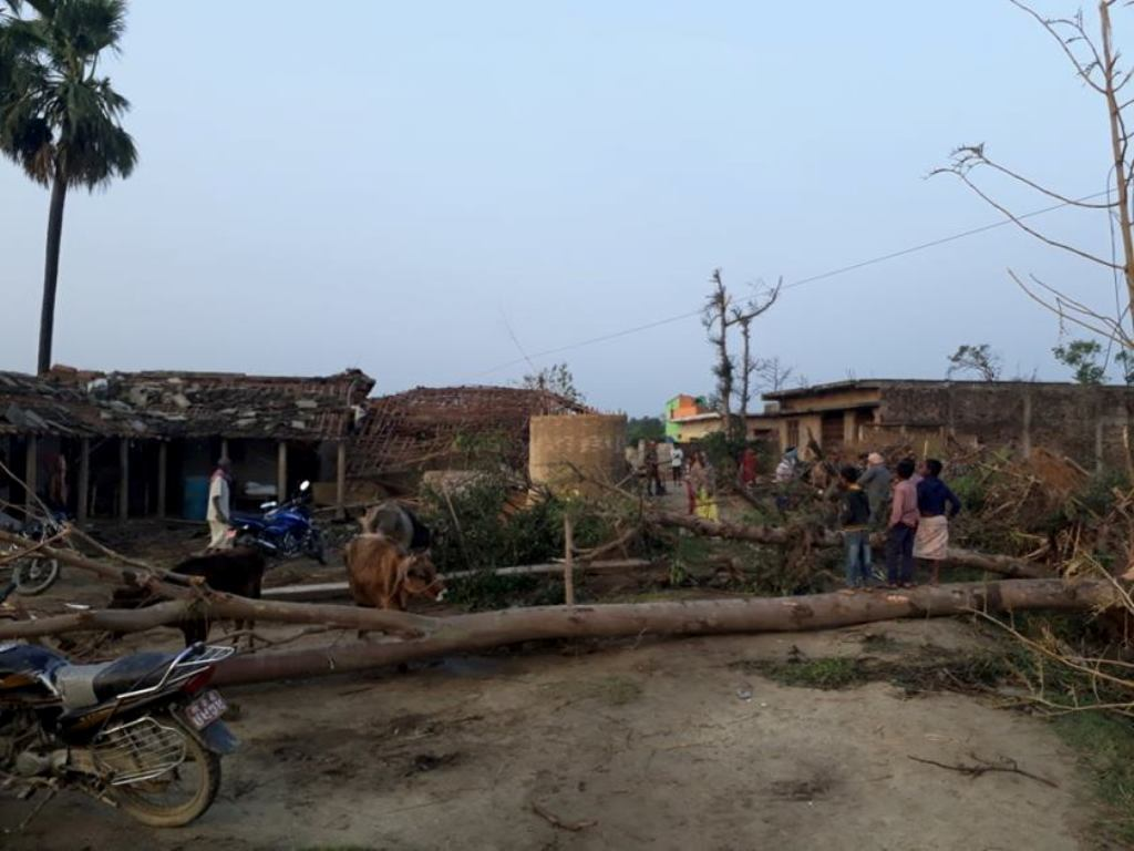 Photo feature: Storm kills 28; 400 injured