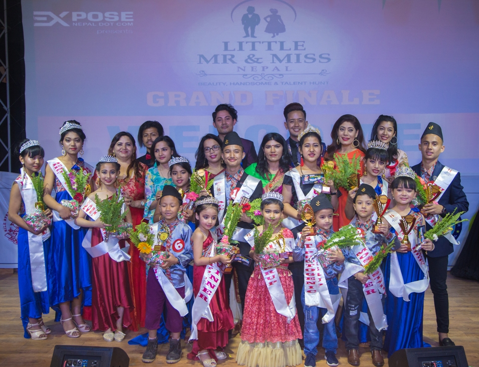 Eight Children Crowned 'Little Mr and Miss 2019' Title