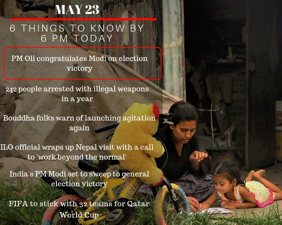 May 23: 6 things to know by 6 PM today