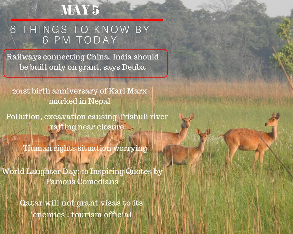 May 5: 6 things to know by 6 PM
