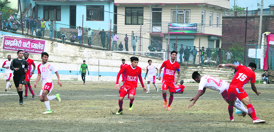 Chyasal stuns APF to set summit clash with Saraswati