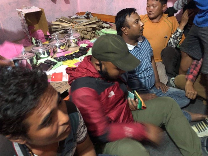 Two injured in explosion in Nagdhunga; seven arrested from Koteswore