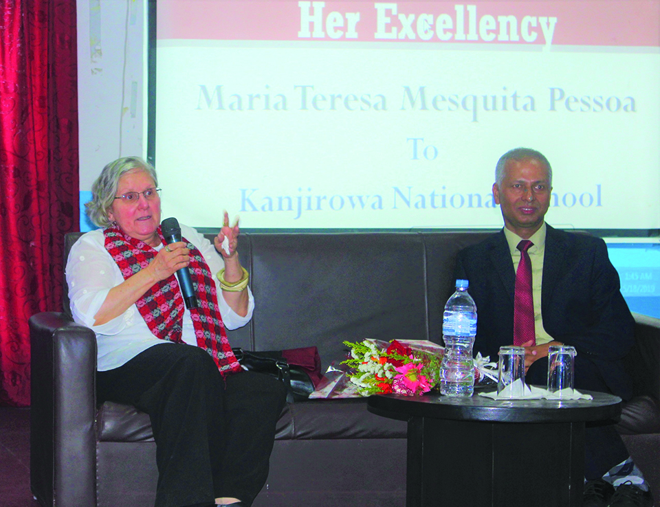 Nepal has right to have access to sea: Brazilian envoy