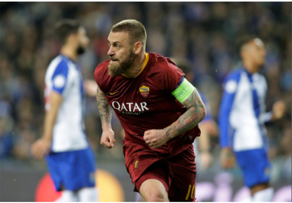 De Rossi to leave AS Roma after 18 years