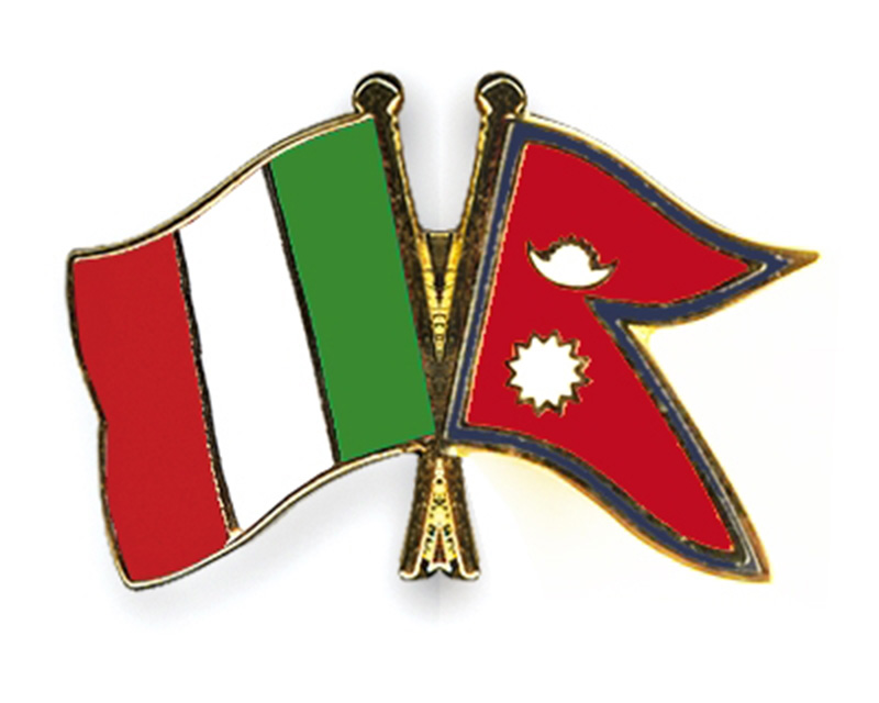 Pande putting in all efforts to bolster Nepal-Italy ties