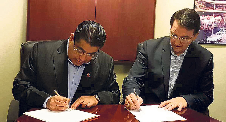 UPF Nepal signs MOU with its American counterpart