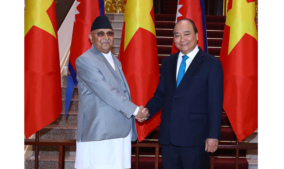 Nepal, Vietnam agree to promote bilateral trade, cooperation