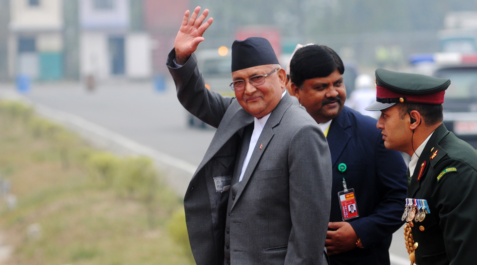 Helicopter with PM Oli onboard makes emergency landing