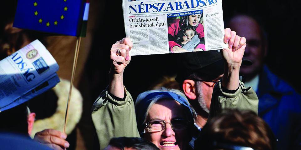 Media capture in Europe