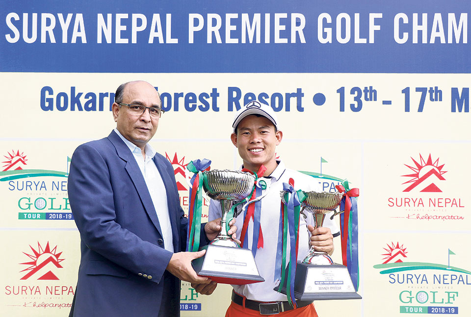 Amateur Rai wins Surya Nepal Premier Golf Championship