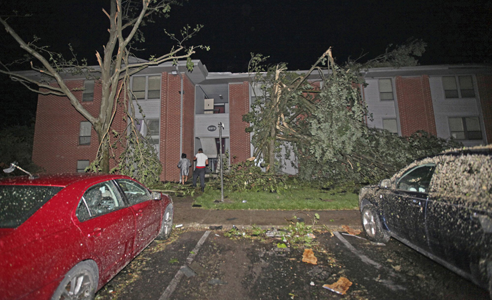 Tornadoes leave trail of destruction across Ohio, Indiana