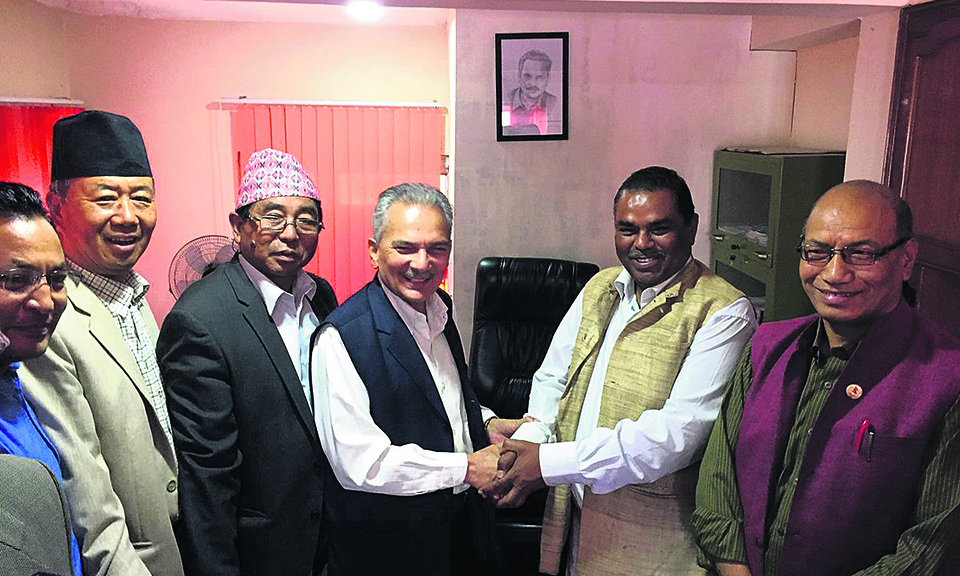 FSFN, Naya Shakti to merge as Samajbadi Party Nepal