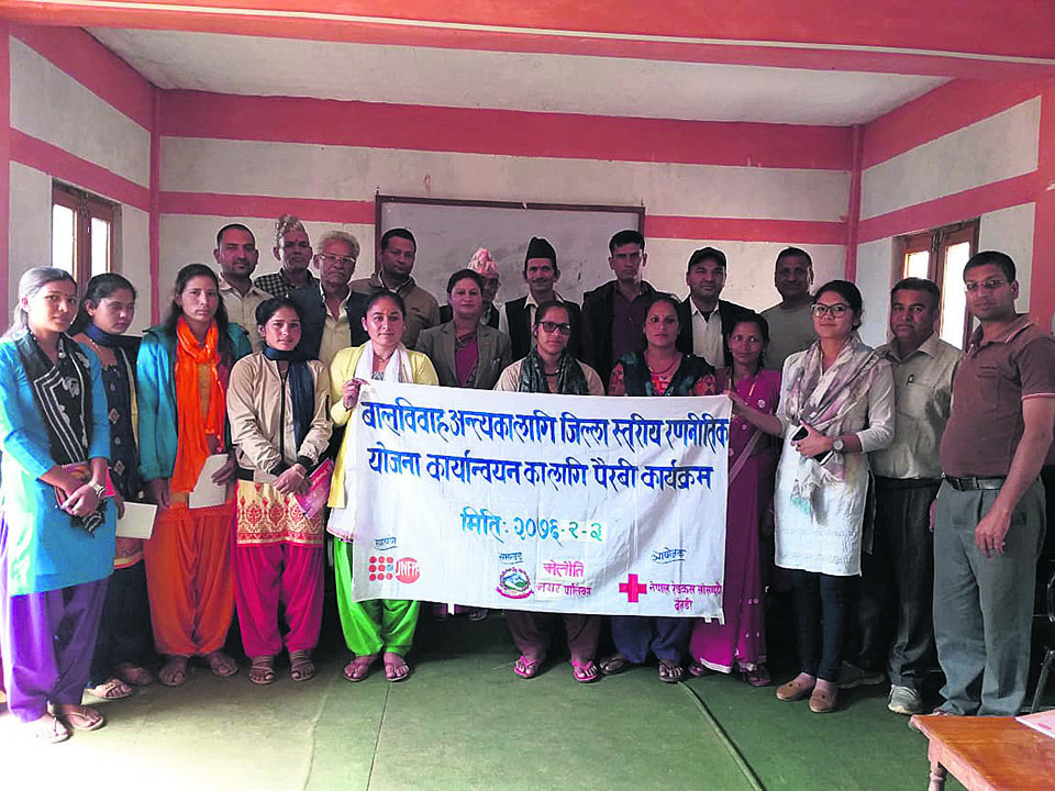 Local units determined to end child marriage through strategic plans