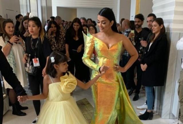The golden mermaid: Aishwarya Rai Bachchan stuns at Cannes red carpet