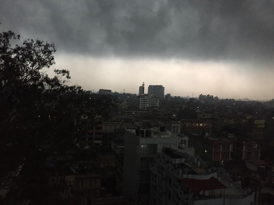 Weather: Partial clouds and rainfall in most regions of the country for next few days
