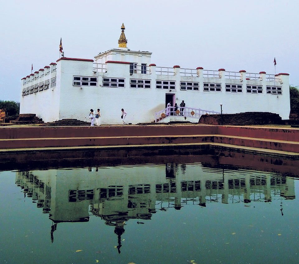 82 per cent work under Lumbini Master Plan completed