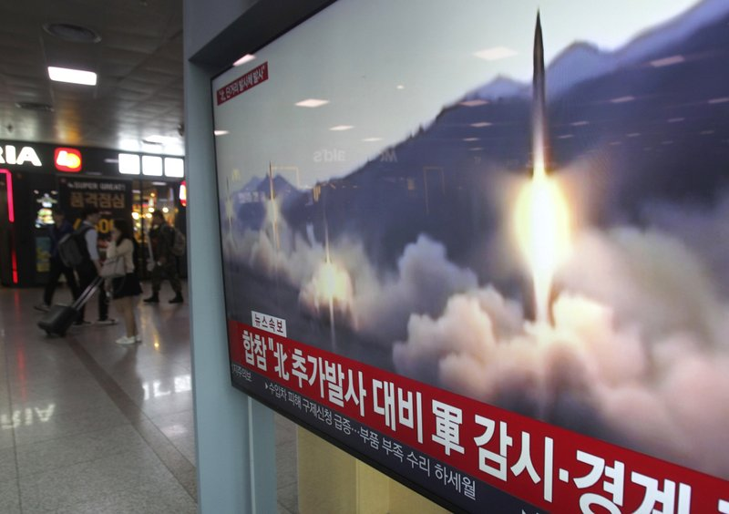 South Korea: North Korea fires an unidentified projectile