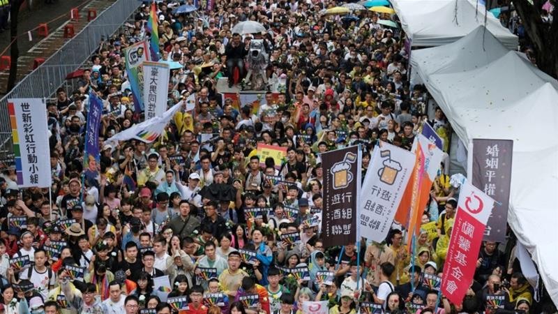 Taiwan parliament to vote on same-sex marriage legislation