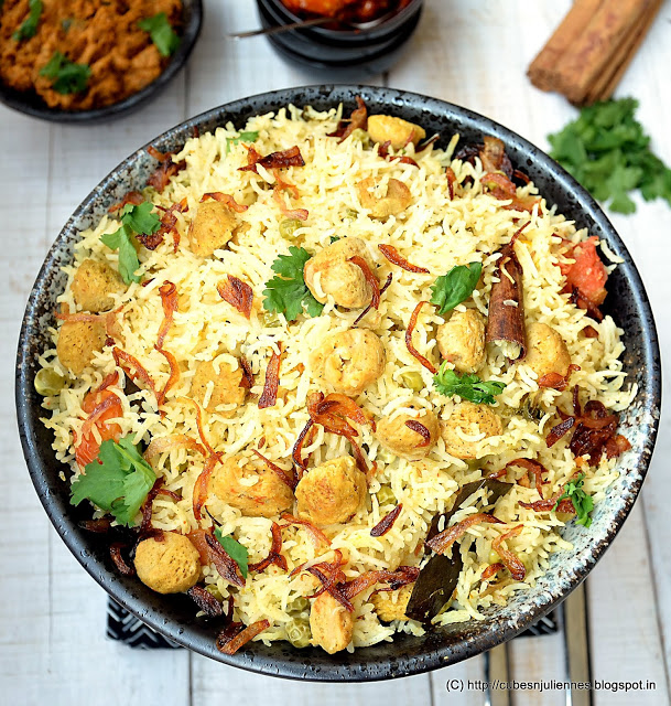 Soya Rice Recipe: A quick, nutritious and healthy dish