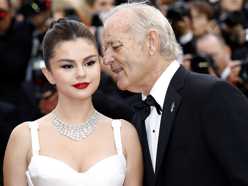 Selena Gomez says that she's getting married to Bill Murray