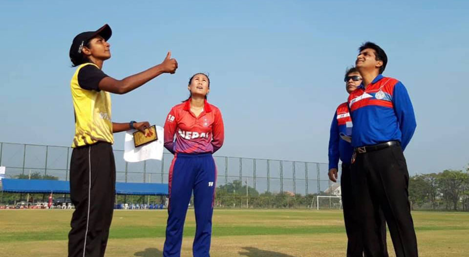 Nepal registers second victory in Women T20 Smash Cricket Tournament