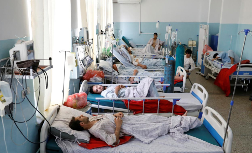 Death toll from Taliban blast in Afghan capital reaches 16, with 119 wounded: official