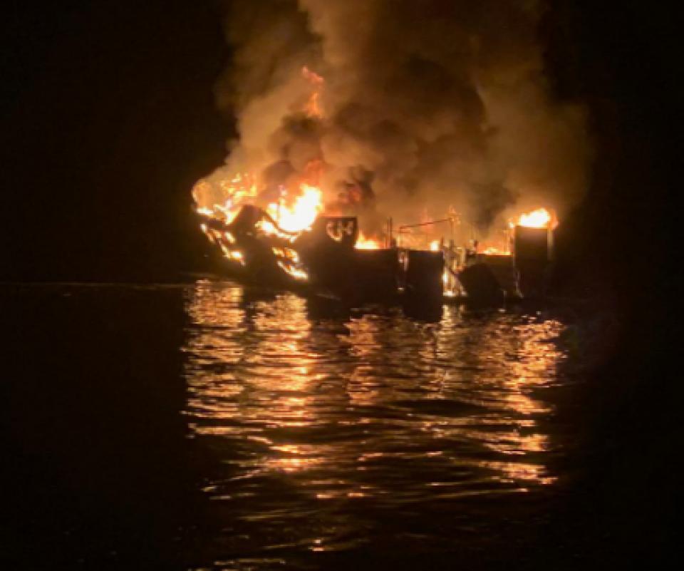 California scuba boat fire death toll rises to 25: report