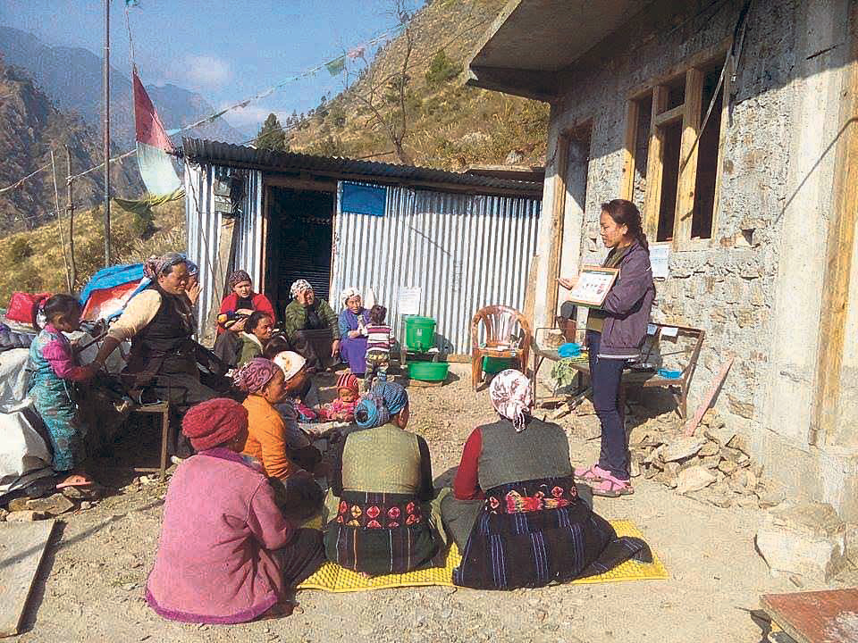 Education on motherhood improving women's health