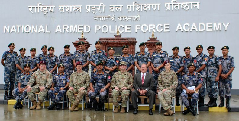 US Army and APF personnel taking part in 'First Responder Knowledge' exchange program in Chandragiri