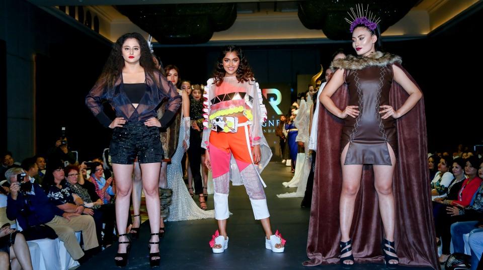 Sartorial glamour permeates IEC Designers Runway- 8