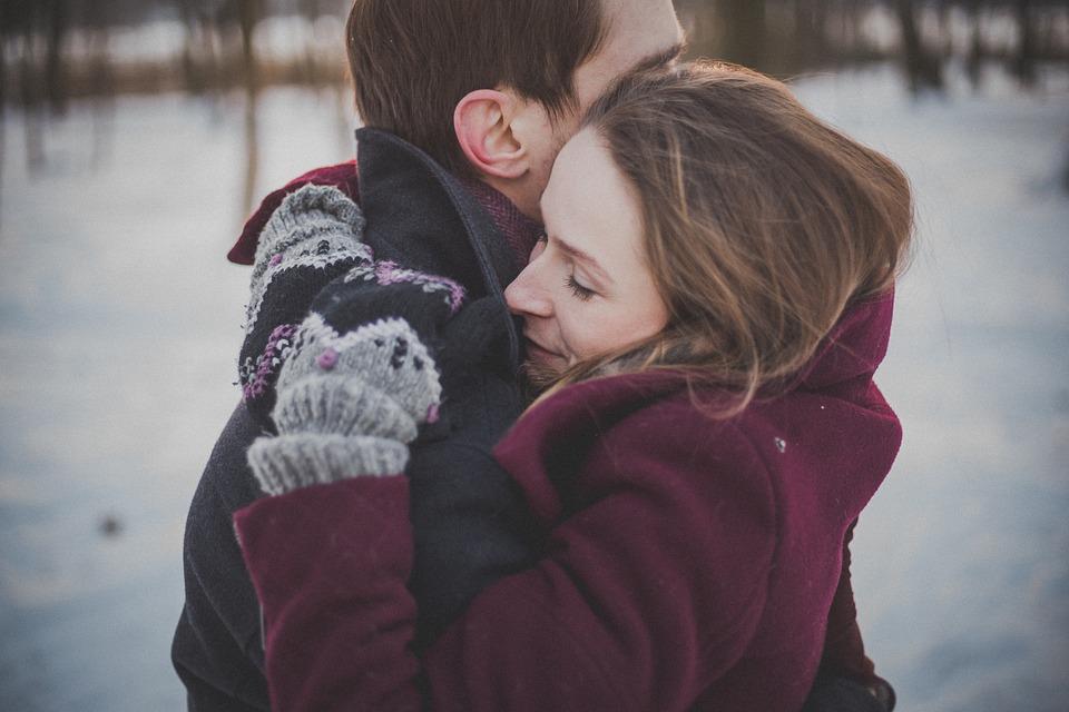 Hug me, and say you love me