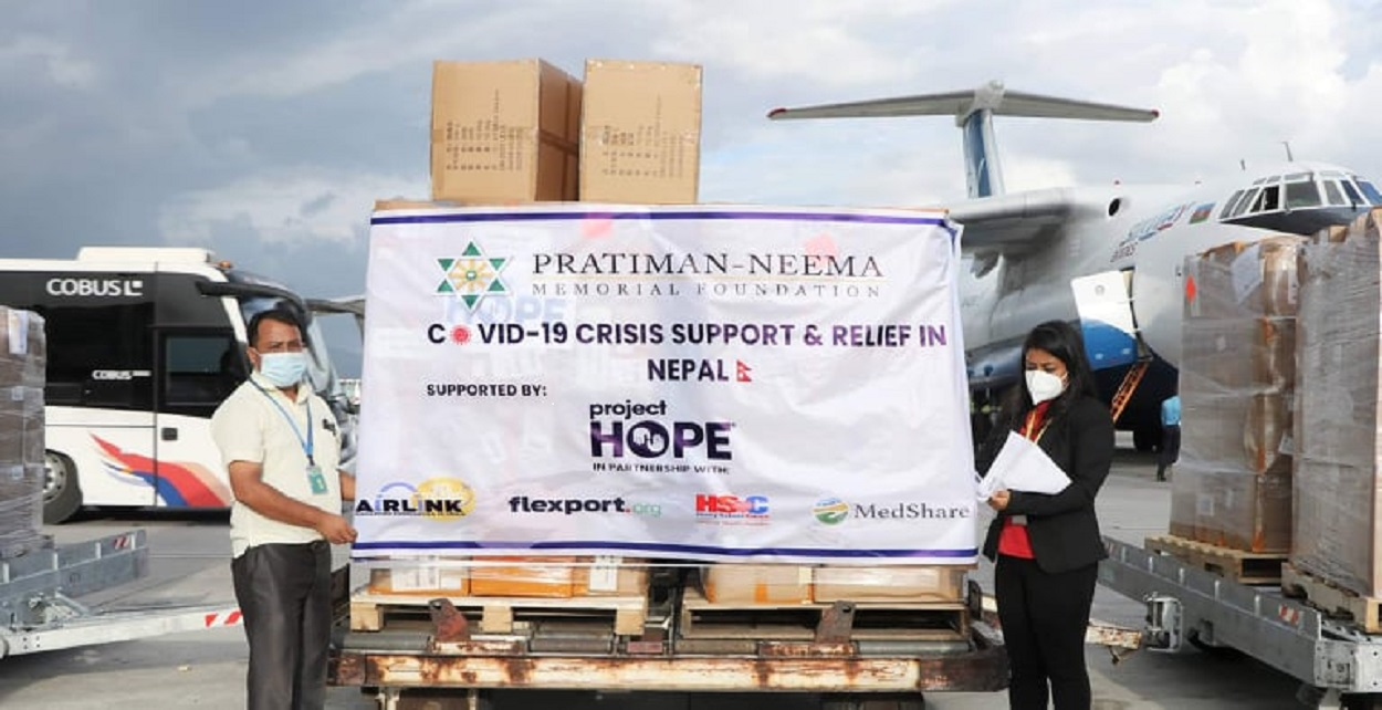 Project Hope provides medical supplies worth $660,240 to PNMF