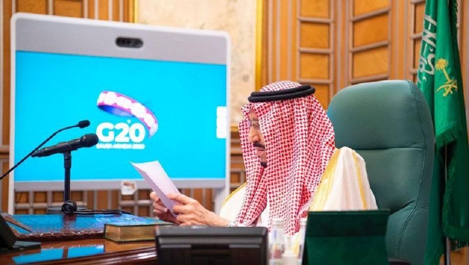 Saudi king to G20: let's unite against coronavirus