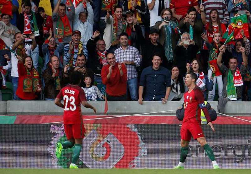 Ronaldo scores homecoming goal but Sweden wreck the party