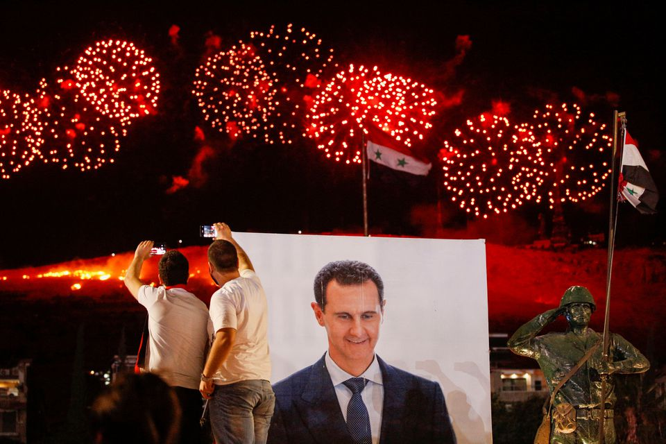Syria's Assad wins 4th term with 95% of vote, in election the West calls fraudulent