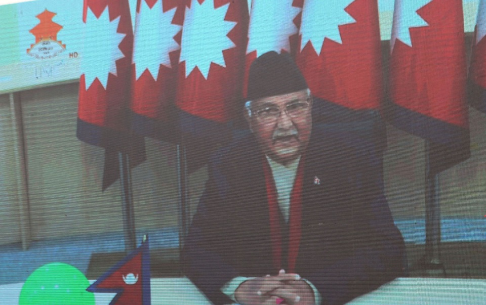 Time has come to sort out pending issues, PM Oli tells his Indian counterpart