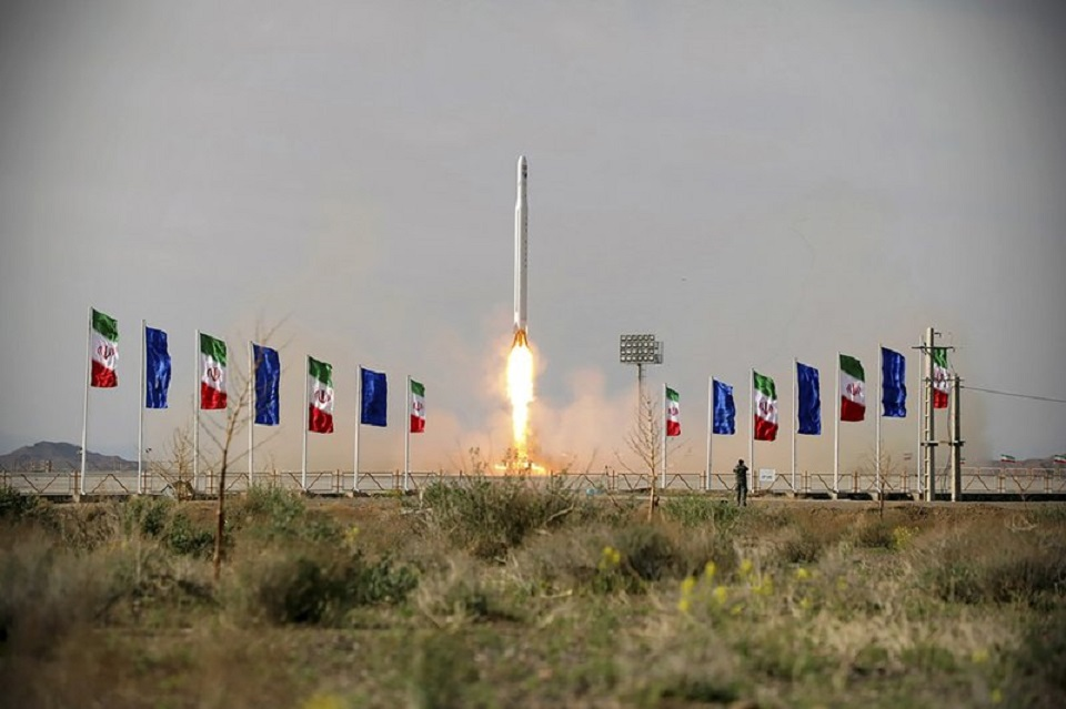 Iran's Guard says it launched satellite amid US tensions