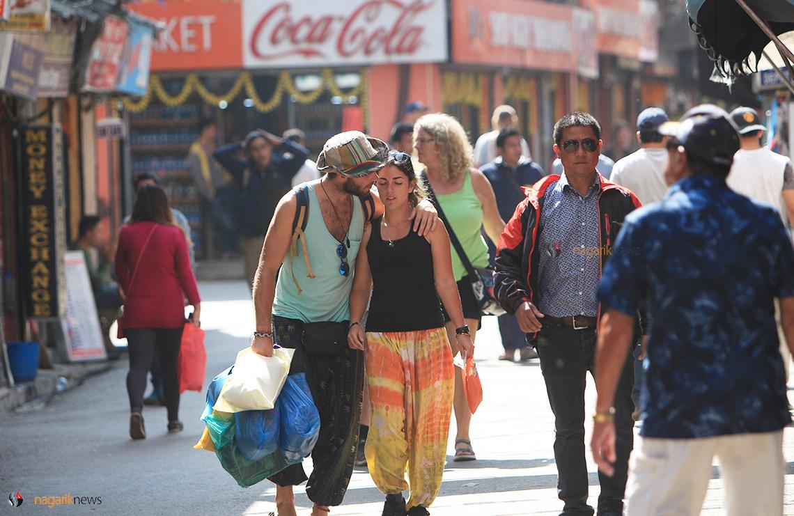 Vehicle Ban in Thamel draws Mixed Reaction