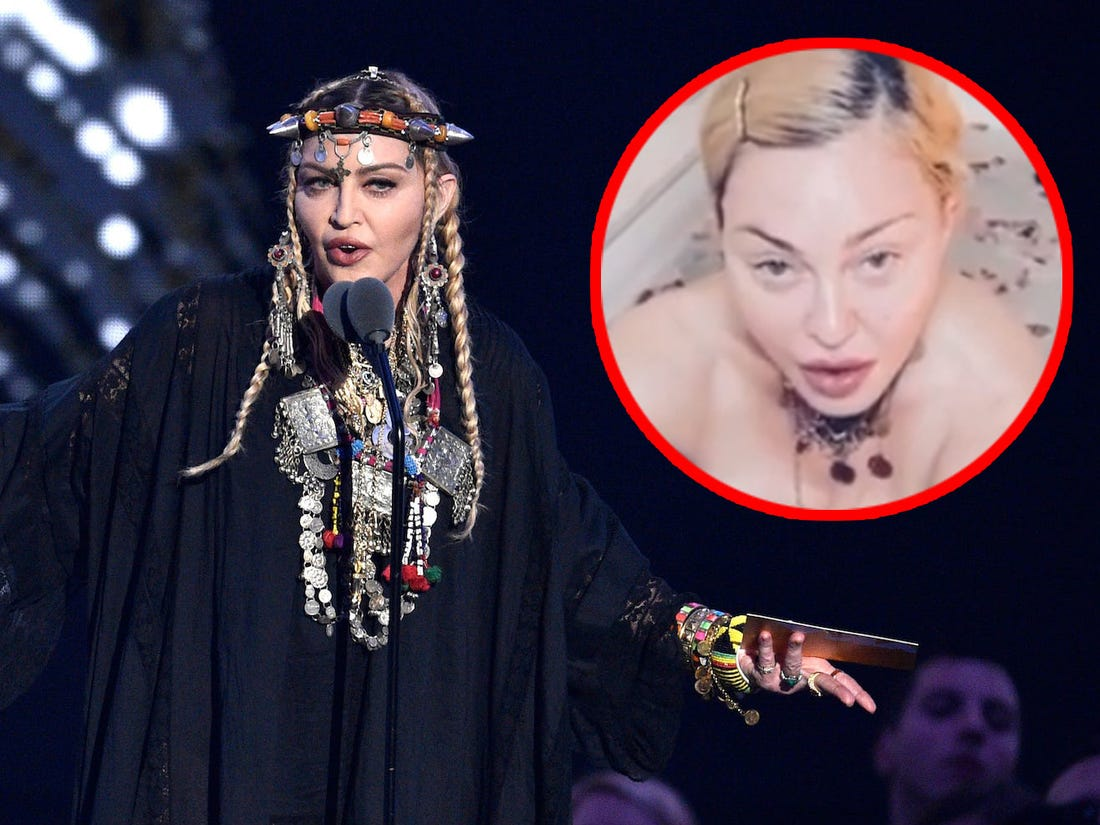 COVID-19 is a great equalizer: Madonna from her bathtub