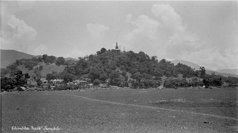 Nostalgia: Swayambhu area around two decades ago.