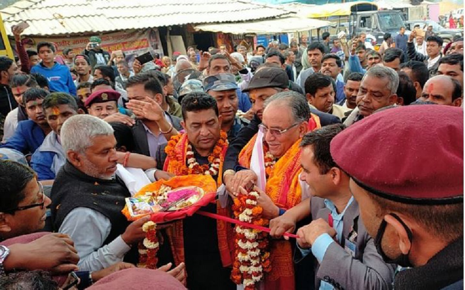 Chairman Dahal inaugurates Mithila circumambulation- longest religious trek linking two-country shrines
