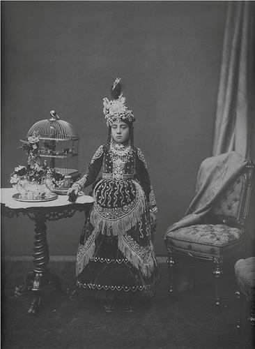Nostalgia: Rana lady in this undated photograph.