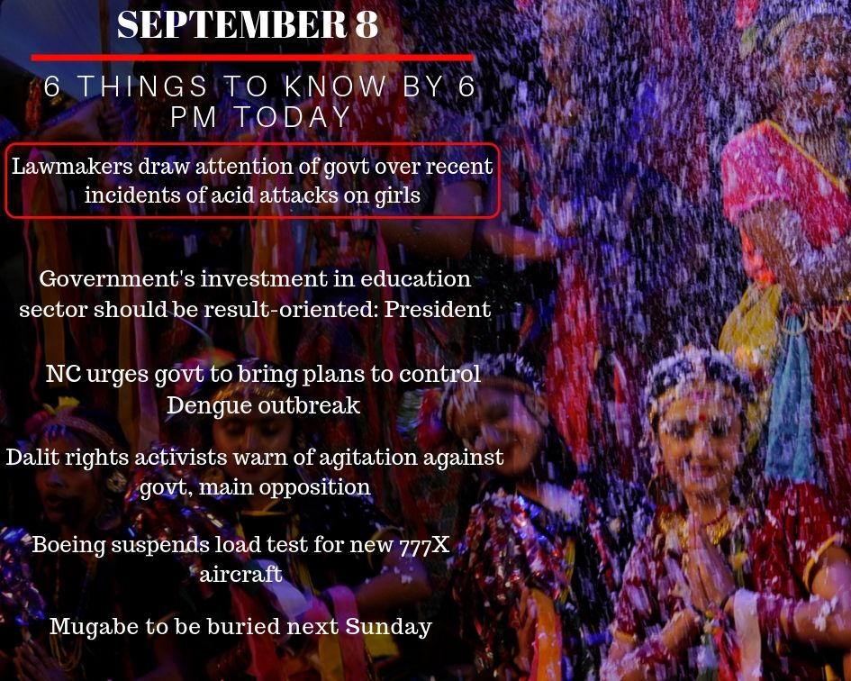 Sept 8: 6 things to know by 6 PM today