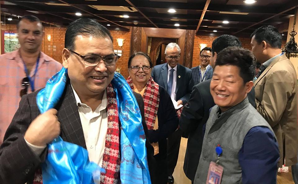 Speaker Mahara leaves for Kazakhstan