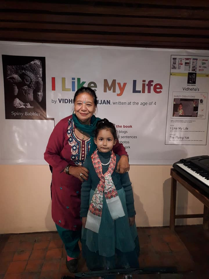 Six years old Vidheha performs again