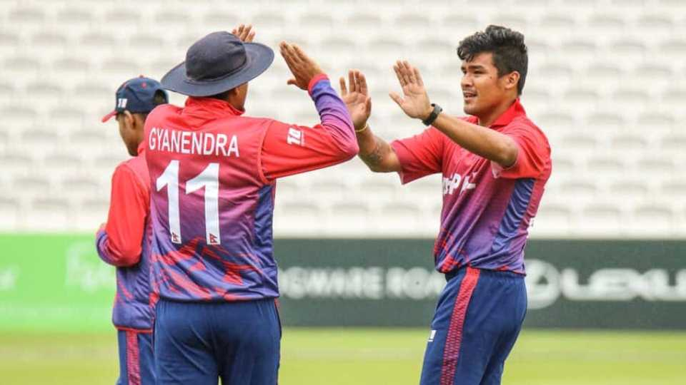 Nepal thrashes the Netherlands as Karan stars