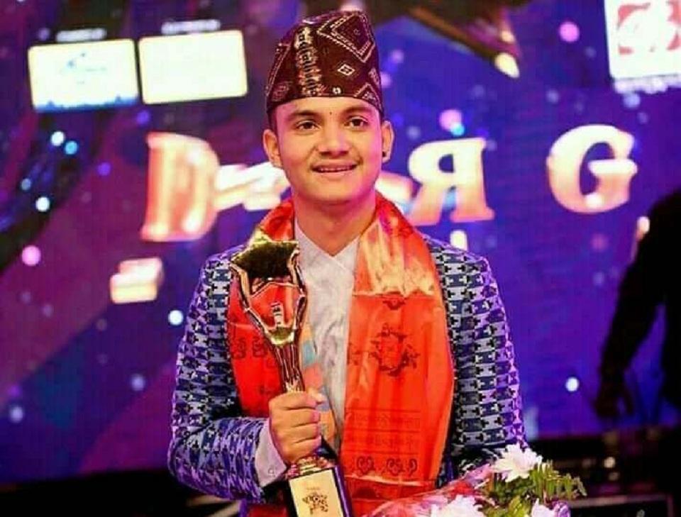 Shani Bishwokarma becomes first 'Nepal Lok Star'